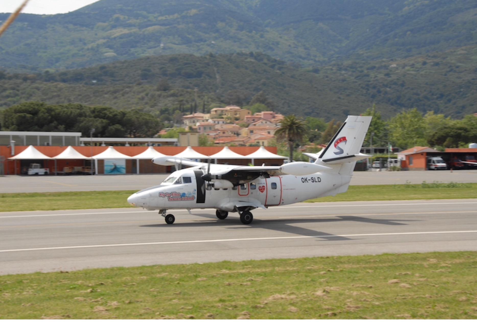Aeroporto Elba : Elba si allunga la pista in ottobre u italiavola