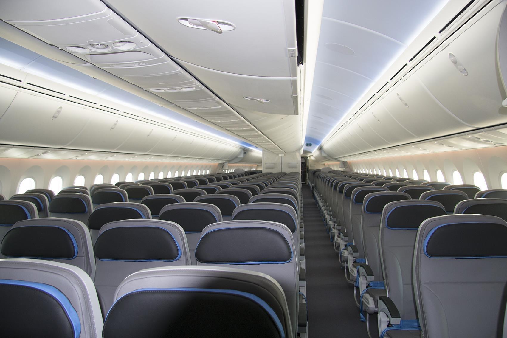 Scopriamo gli interni del nuovo boeing 787 9 della neos for Immagini di interni