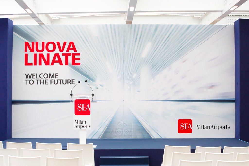La Nuova Immagine Di Milano Linate 8 3 Milioni Di