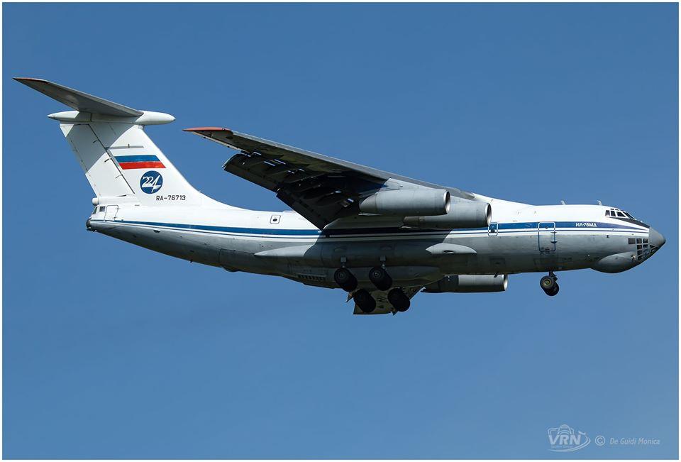 Il 76 Russian Air Force a Verona – Italiavola